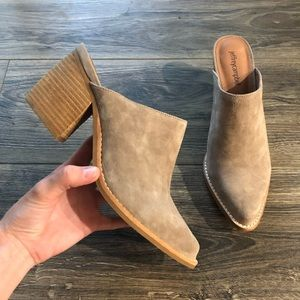 Jeffrey Campbell Suede Pointed Booties